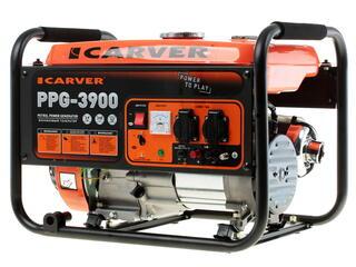 Бензиновый электрогенератор Carver PPG- 3900