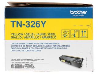 Картридж лазерный Brother TN-326Y