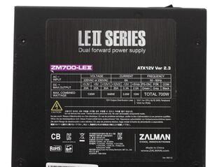 Блок питания Zalman LE2 700W [ZM700-LE2]