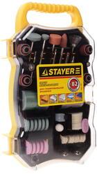 """Насадки для гравера STAYER """"MASTER"""" 29901-H82"""