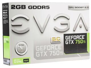 Видеокарта EVGA GeForce GTX 750 Ti [02G-P4-3753-KR]