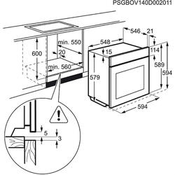 Электрический духовой шкаф Electrolux OPEB7558K