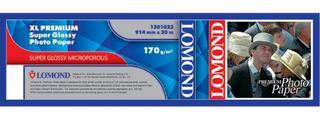 Бумага LOMOND XL Glossy Paper, ролик 914мм*50,8 мм, 200 г/м2, 30 метров.