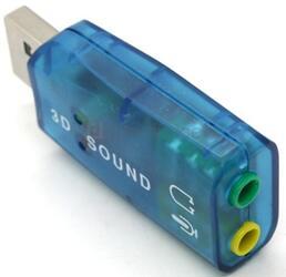Внешняя звуковая карта TRUA3D (C-Media CM108)