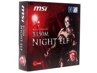Материнская плата MSI B150M NIGHT ELF