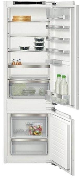 Холодильник с морозильником Siemens KI87SAF30 белый