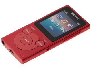 Мультимедиа плеер Sony NWZ-E394 красный