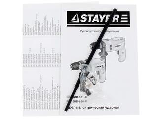 Дрель-шуруповерт STAYER SID-650-E