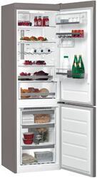 Холодильник с морозильником WHIRLPOOL BSNF 8772 OX серебристый