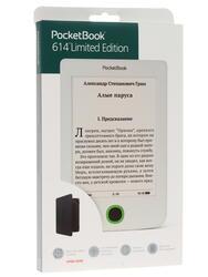 6'' Электронная книга PocketBook 614 L.E. черный + чехол