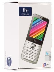 Сотовый телефон Fly FF242 белый