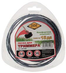 Леска для триммеров DDE 644-986