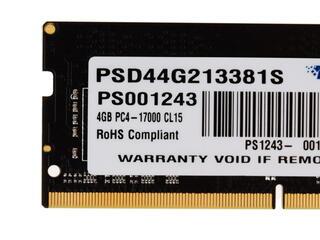Оперативная память SODIMM Patriot Signature [PSD44G213381S] 4 ГБ