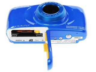 Компактная камера Nikon Coolpix S33 синий