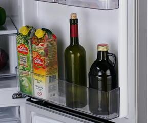 Холодильник с морозильником LG GA-B379SMCL серебристый