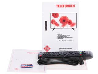 """31.5"""" (80 см)  LED-телевизор Telefunken TF-LED32S27T2 черный"""