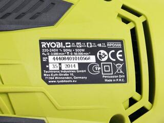 Дрель Ryobi RPD500-G