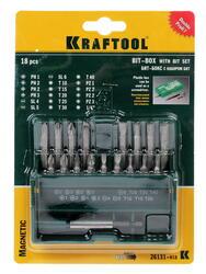 Набор бит KRAFTOOL 26131-H18