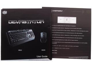 Клавиатура+мышь Cooler Master Devastator Combo Blue