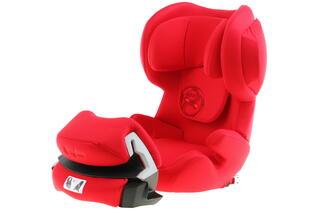 Детское автокресло Cybex Juno 2-Fix красный