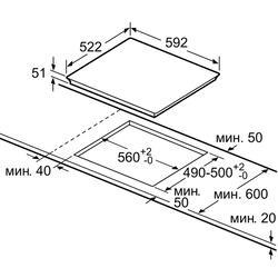 Электрическая варочная поверхность Bosch PIE 651F17E