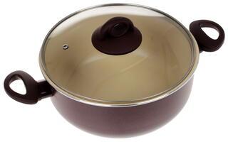 Кастрюля Jarko JDC-224-21 Chocolate Dark коричневый