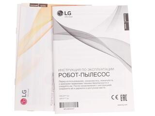 Пылесос-робот LG VRF4041LS серый