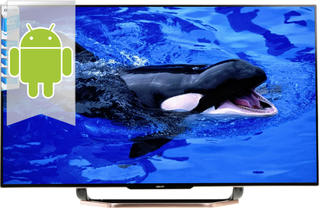"42"" (106 см)  LED-телевизор DEXP 42A8100 бронзовый"