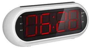 Часы радиобудильник Rolsen CR-130W