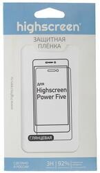 "5""  Пленка защитная для смартфона Highscreen Power Five"