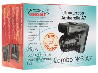 Видеорегистратор SHO-ME Combo№3 A7