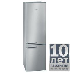 Холодильник с морозильником BOSCH KGV36Z47 серебристый