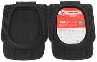 Коврики салона Autoprofi TRANSFORM TER-001
