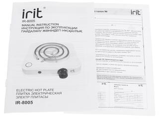 Плитка электрическая Irit IR-8005 белый