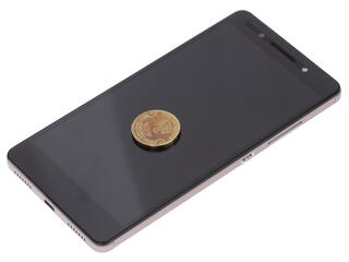"""5.2"""" Смартфон Huawei Honor 7 16 ГБ серый"""