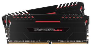 Оперативная память Corsair Vengeance LED [CMU16GX4M2A2666C16R] 16 ГБ