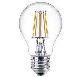 Лампа светодиодная Philips LED Fila 4.3-40W E27 WW A60 ND 1CT