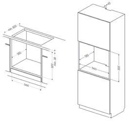 Электрический духовой шкаф Hansa BOEW64190055