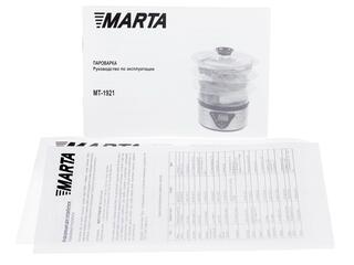 Пароварка Marta MT-1921 серебристый