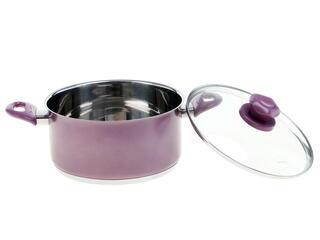 Кастрюля Supra SVS-2491C фиолетовый