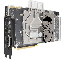 Видеокарта MSI GeForce GTX 1080 SEA HAWK EK X [GTX 1080 SEA HAWK EK X]