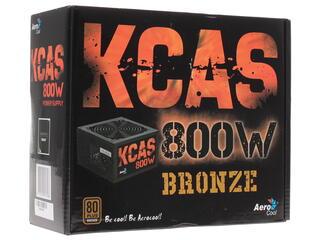 Блок питания Aerocool KCAS 800W [KCAS-800W]