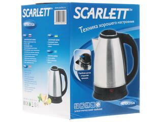 Электрочайник Scarlett SC-EK21S26 серебристый