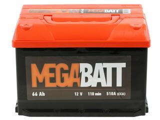 Автомобильный аккумулятор Mega Ватт 6ст-66 N