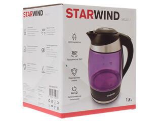 Электрочайник Starwind SKG2217 фиолетовый