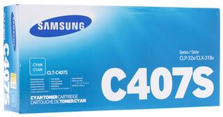 Картридж лазерный Samsung CLT-C407S