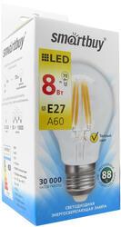 Лампа светодиодная Smartbuy SBL-A60F-8-30K-E27