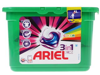 Капсулы Ariel Active Gel Capsules Color&Style