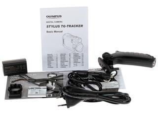 Экшн видеокамера Olympus TG-Tracker черный
