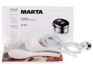 Мультиварка Marta MT-1978 серебристый